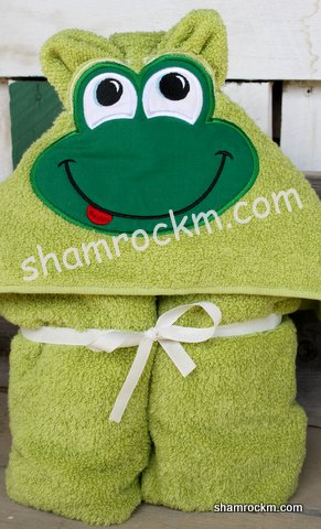 Froggy Towel