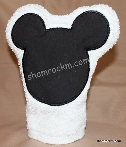 Boy Mouse Bath Mitt-boy mouse bath mitt