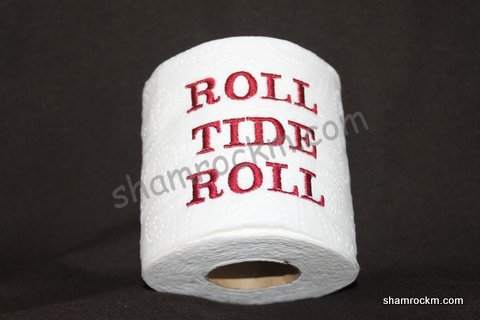 Roll Tide Toilet Paper