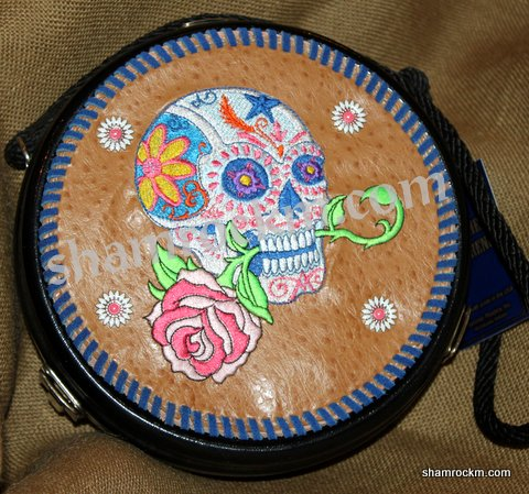 Flower Skull Goat String Can