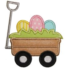 Easter Egg Wagon-Easter, eggs, wagon
