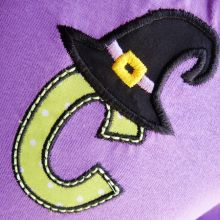 Witch Hat Alphabet-witchhat, halloween designs, alphabets