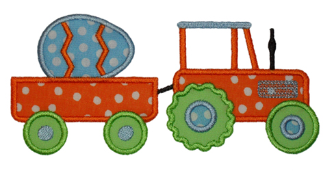 Tractor Egg-Easter, egg, tractor
