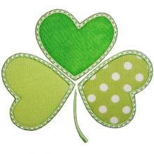 Whimsical Shamrock-shamrocks, St.patricks day designs,
