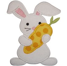 bunny and carrot-