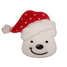santa Polar Bear-Christmas, santa, polar bear