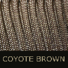 Coyote Brown Paracord-paracord, coyote brown paracord, parachute cord, survivor bracelet cord
