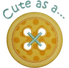 Cute as a Button-cute as a button