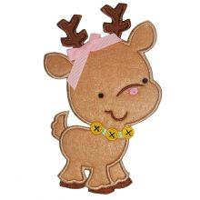 Cute Reindeer-cute reindeer, reindeer applique, Christmas applique
