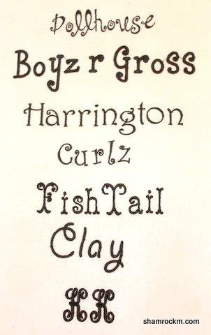 Fonts-fonts