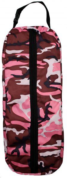 camouflage print nylon halter/bridle bag