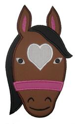 Horse Head Heart-horse head