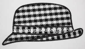 Houndstooth Hat-Houndstooth Hat, football, bama