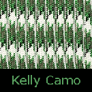 Kelly Camo Paracord-kelly camo paracord, green paracord, parachute cord, survivor bracelet cord