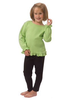 Long Sleeve Frill Shirt-long sleeve frill shirt