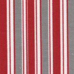 Red(Crimson) & Grey Stripe-fabric