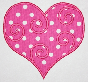 Swirly Heart-swirly heart, hearts, valentines, valentines designs
