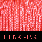 Think Pink Paracord