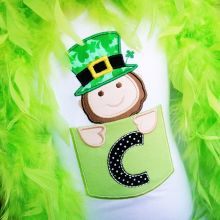 Leprechaun Pocket Alphabet-alphabets, leprechauns, St.patricks day, pocket alphabets