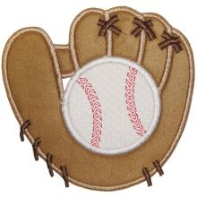 Baseball & Glove-baseball, ball glove