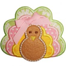 Turkey Applique-turkey applique, thanksgiving, turkey